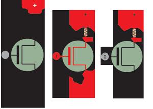 nMOS transistor graphical representation