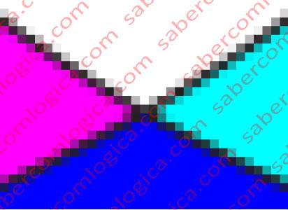 Figura altamente pixelizada